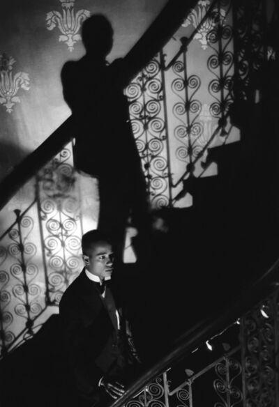 Isaac Julien, 'Film-Noir Staircase (Looking for Langston Vintage Series)', 1989