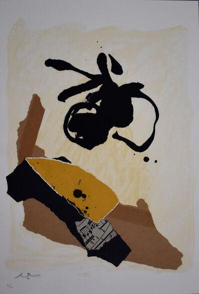 Robert Motherwell, 'Untitled, from: 12th Anniversary Galeria Joan Prats 1976-88 Portfolio', 1986