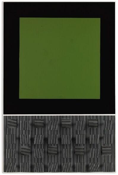 Jesús Rafael Soto, 'Verde y rayado', 1993