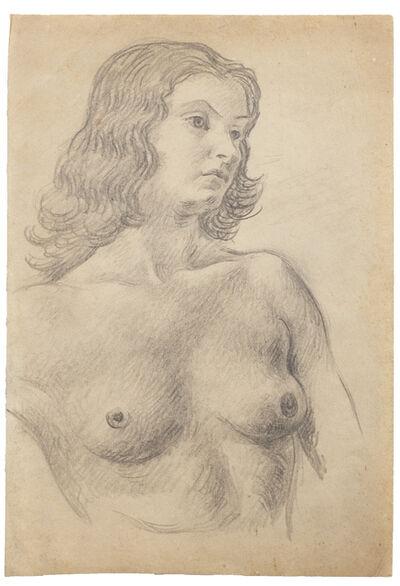 """Antonio Berni, 'Sin Título (Paule Cazenave). De la serie """"Desnudos París""""',  ca. 1927/1928"""