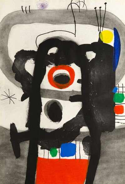 Joan Miró, 'L'ENRAGÉ (The Angry One)', 1967
