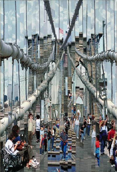 Serge Mendjisky, 'Blue Bridge', 2007