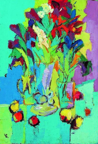 Boris Chetkov, 'Still Life with Apples', 1998