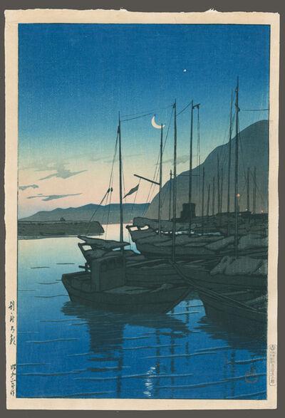 Kawase Hasui, 'Morning in Beppu, Oita', 1928