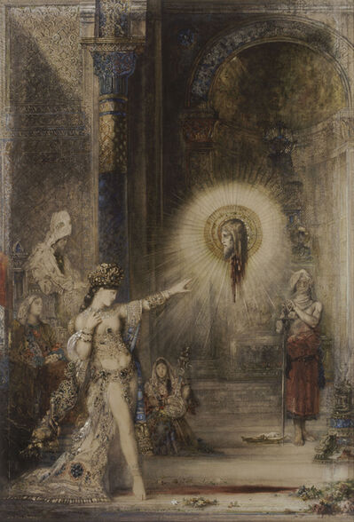 Gustave Moreau, 'The Apparition', 1874-1876