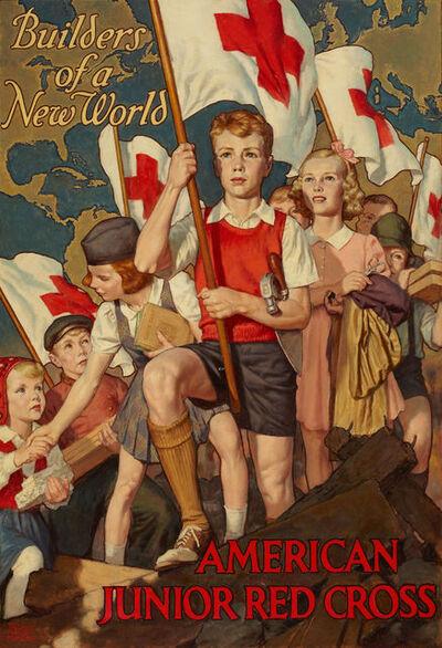 Walter Beach Humphrey, 'Builders of a New World, Poster Illustration', 1940-1949
