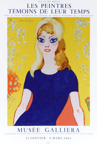 Kees van Dongen, 'Les Peintres Témains de Leur Temps', 1964