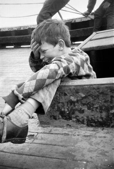 Paul Glazier, 'Francis Sinclair on Boat', 1985