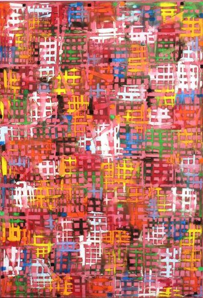 Petra Rös-Nickel, 'Cross Pink', 2014