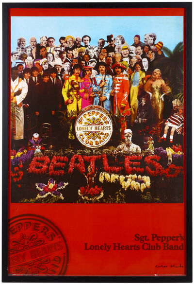 Peter Blake, 'Sgt. Pepper's Lonely Hearts Club Poster '