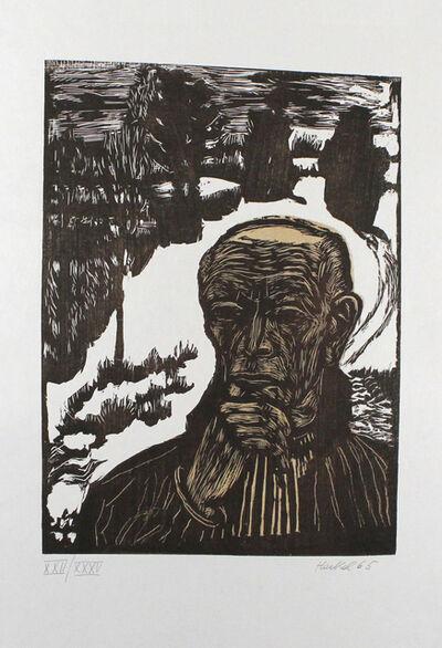 Erich Heckel, 'Bildnis', 1965