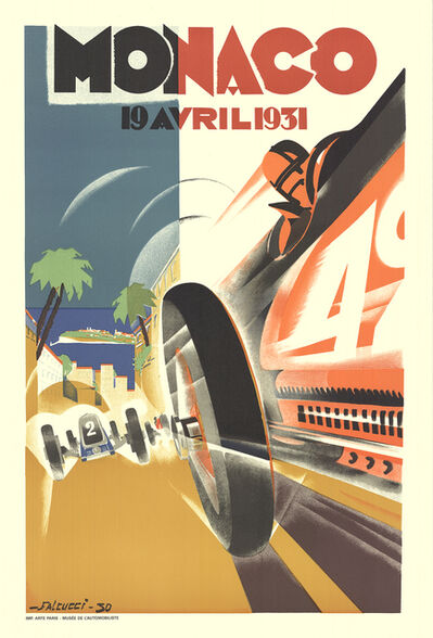 Robert Falcucci, 'Monaco Grand Prix 1931', 1983