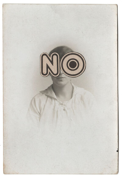 Michelle Thompson, 'NO', 2018