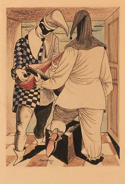 Philip Guston, 'Untitled (Punchinello Drawing)', 1933