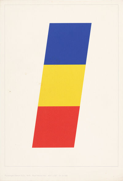 Ellsworth Kelly, 'Sample Portfolio (Axsom/Floyd 61-70)', 1970