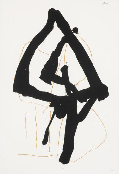 Robert Motherwell, 'Beau Geste II', 1989