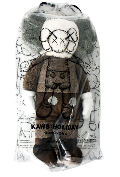 "KAWS, 'HOLIDAY HONG KONG LIMITED 20"" PLUSH (Brown)', 2019"