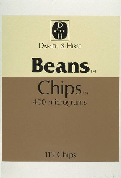 Damien Hirst, 'Beans and Chips, from The Last Supper', 1999