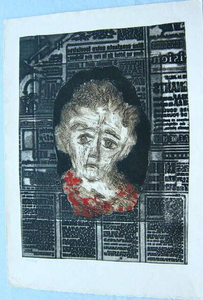 Zwy Milshtein, 'Portrait de Femme', 20th Century
