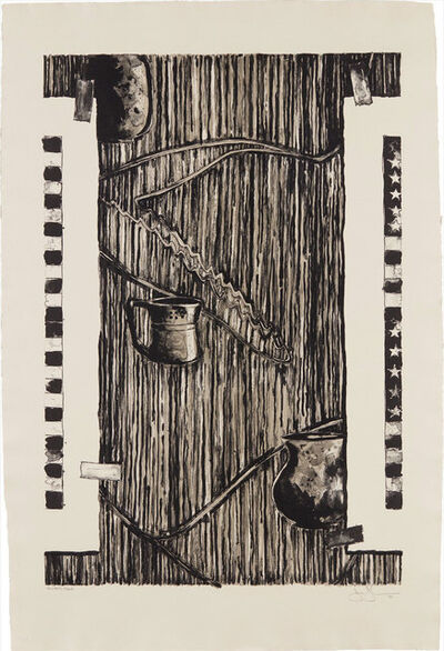 Jasper Johns, 'Ventriloquist', 1990