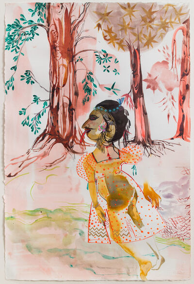 Rina Banerjee, 'The durability of her beauty, polished fingers, her private and delicate proportions made all the city to know that she was a wonder that only nature was able to ponder', 2011
