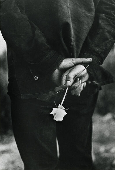 "Ralph Gibson, 'Hand with Rose, from ""San Francisco""', 1960"