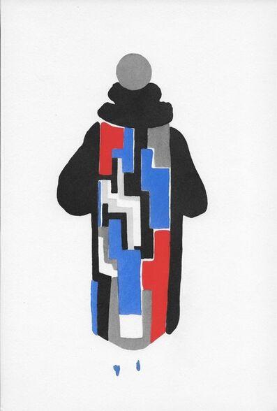 """Sonia Delaunay, 'Manteau pour le """"Boeuf sur le toit""""', 1969"""