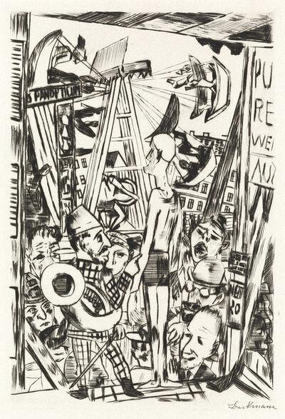 Max Beckmann, 'Der Grosse Mann', 1921