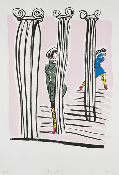 Ella Kruglyanskaya, 'White Columns', 2015