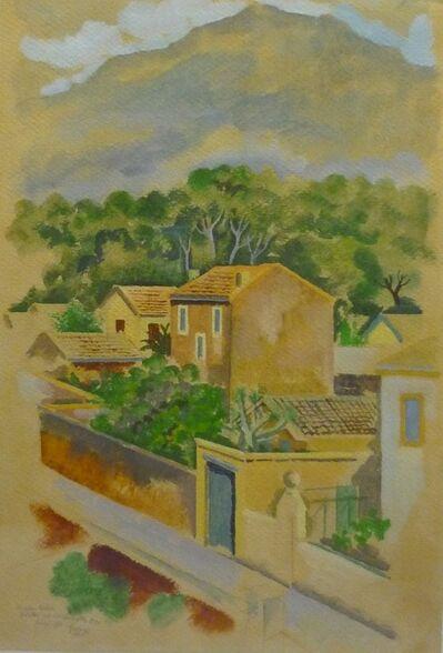 George Grosz, 'Häuser bei Marseille', 1927