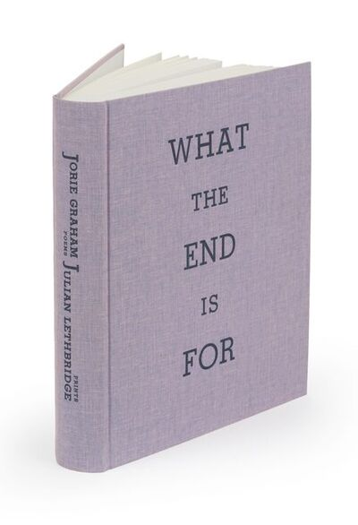 Julian Lethbridge, 'What the End is For, poetry by Jorie Graham', 2014