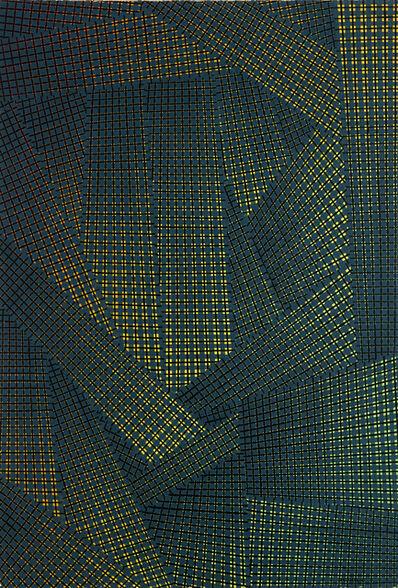 Mario Nigro, 'Dallo spazio totale', 1954