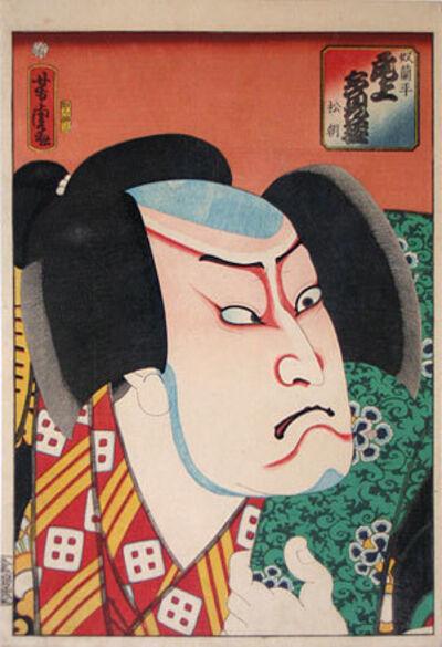 Utagawa Yoshitora, 'Onoe Tamizo as the Footman (Yakko) Ranpei', 1862