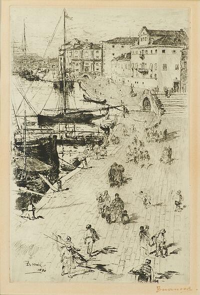 Frank Duveneck, 'Riva degli Schiavoni II', 1880