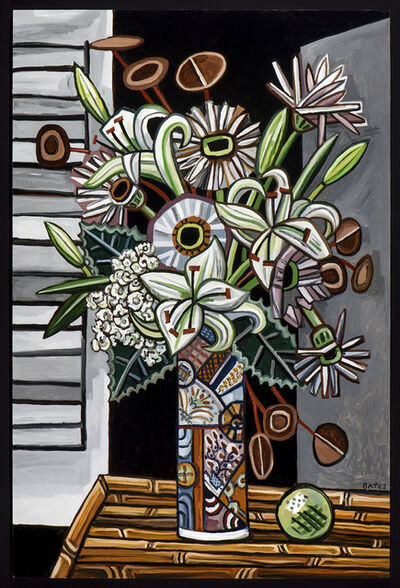David Bates, 'Night Flowers II', 2016