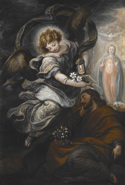 Francisco Rizi, 'The Dream of St. Joseph', ca. 1665