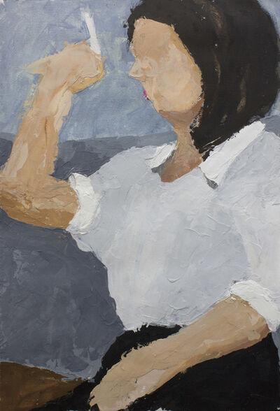Geoffrey Stein, 'The Smoking Poet', 2018