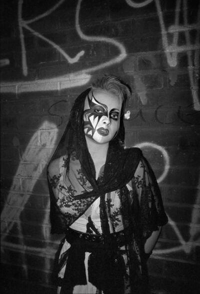 Derek Ridgers, 'Tanya, The Batcave', 1983