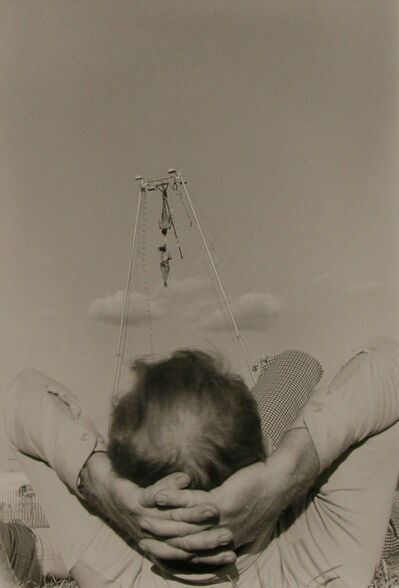 Ken Graves, 'Aerial Thrill Show, Man Reclining, Butler Co. Fair, Pa', 1978