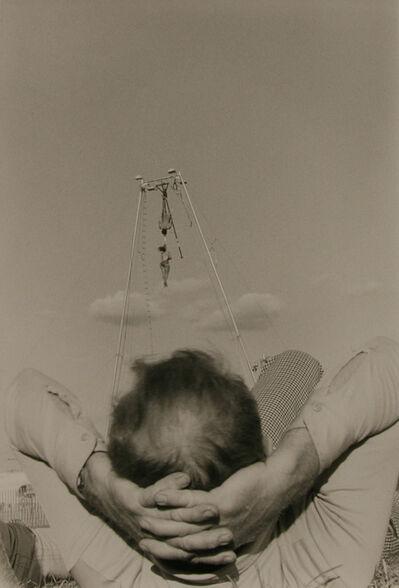 Ken Graves, 'Aerial Thrill Show, Man Reclining, Butler Co. Fair, Pa', 1978
