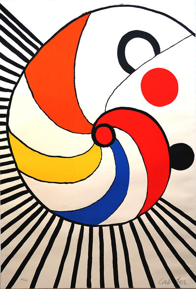Alexander Calder, 'Spirale Multicolore', 1975