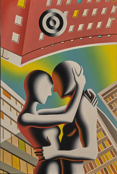 Mark Kostabi, 'Somewhere in Time', 2017