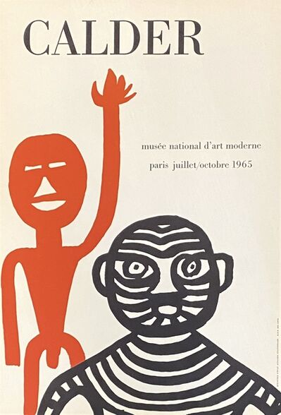 Alexander Calder, 'Alexander Calder 1965 Paris exhibition poster ', 1965