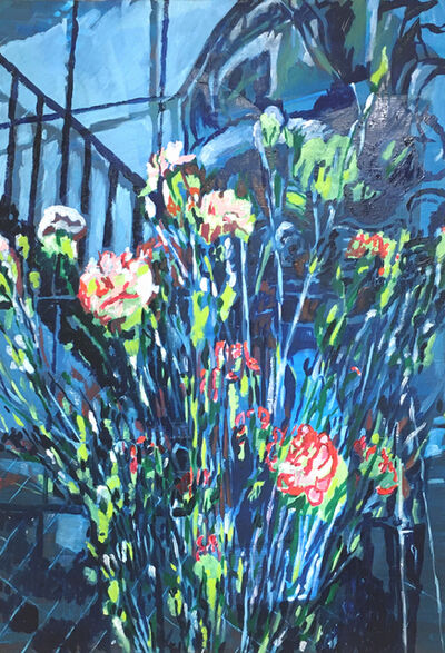 Colin Waeghe, 'A staircase, a ship, & some flowers', 2020