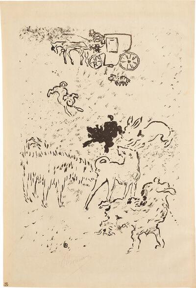 Pierre Bonnard, 'Les Chiens (Dogs) (R.-M. 25, B. 25)', 1893
