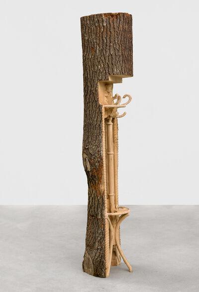 Alicja Kwade, 'aclothestreeisaclothestreeisaclothestree', 2018