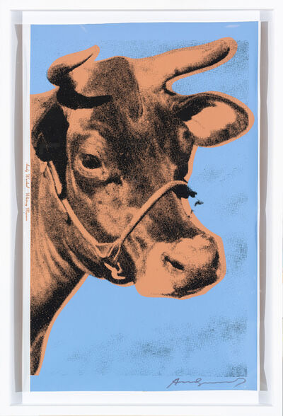 Andy Warhol, 'Cow', 1971