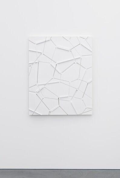 Beat Zoderer, 'Penta - Relief N° 5', 2017