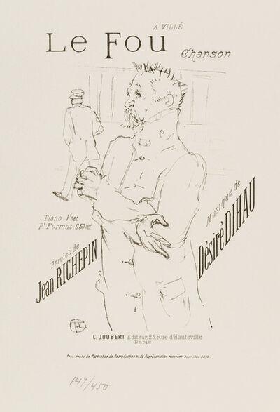 Henri de Toulouse-Lautrec, 'Le Fou (The Madman)', 1895-1896