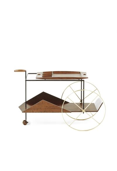 Jorge Zalszupin, 'JZ Tea Trolley', 1950